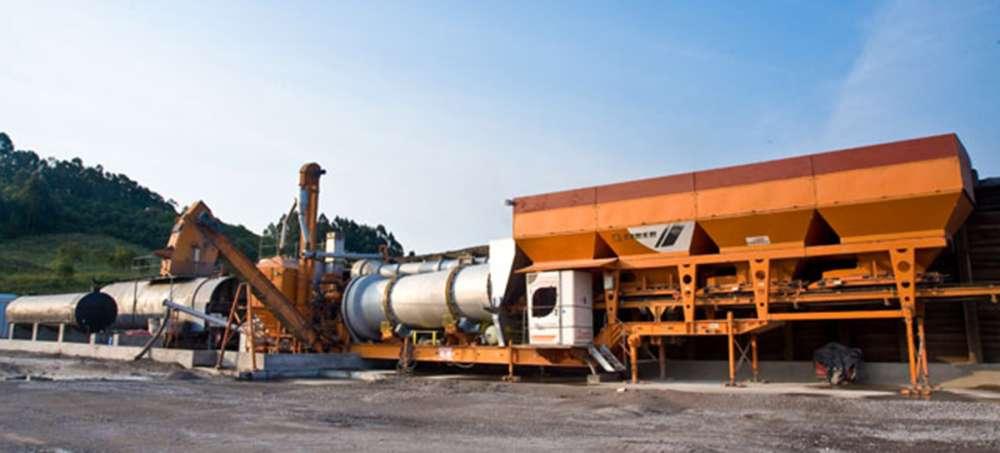 Usina de asfalto (CBUQ) - USINAS